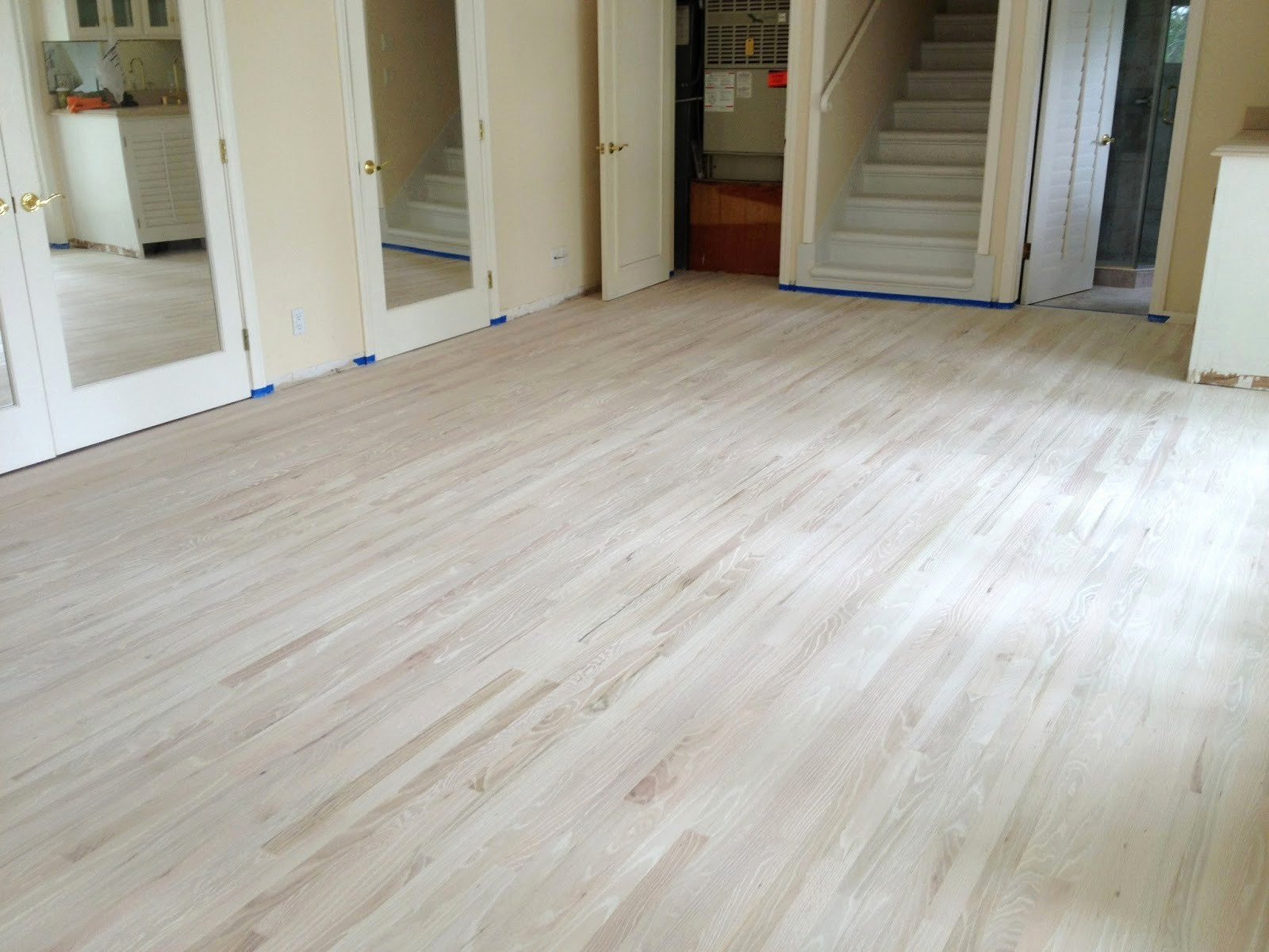 Refinish and Stain Hardwood Floors