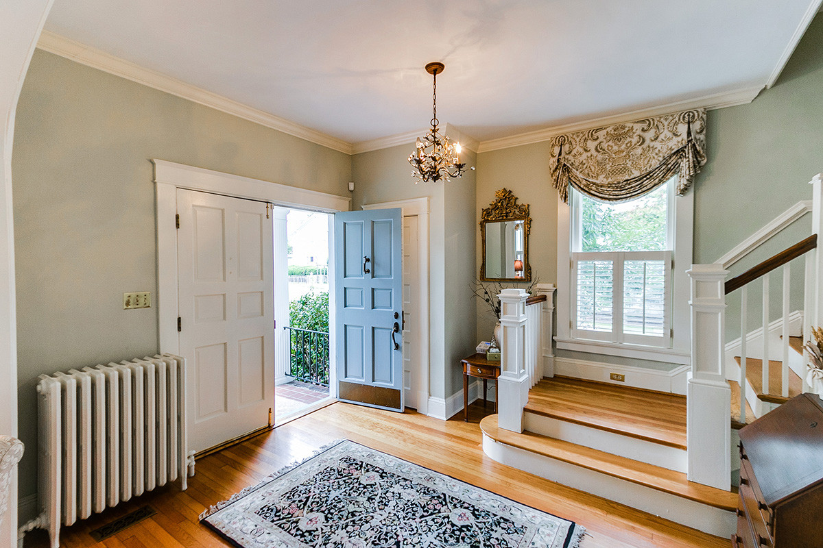 cost to refinish hardwood floors boston of 25 albemarle ave richmond va 23226 betsy dotterer within arched entryway basement picture windows plantation shutters private yard refinished hardwood flooring renovated kitchen terrace