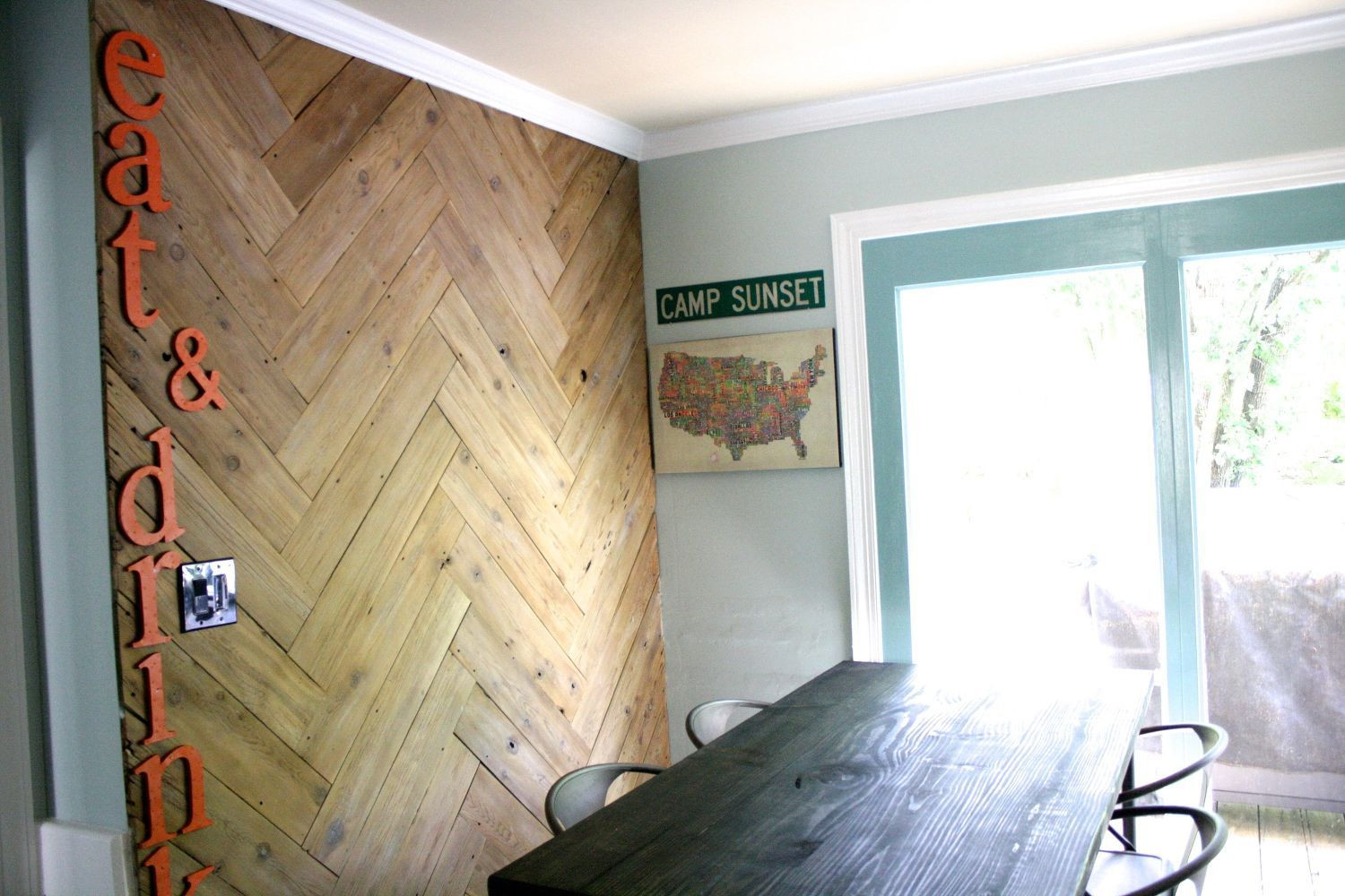 cost to refinish hardwood floors los angeles of 35 feature walls for every room in your home intended for stunning herringbone plank wall upcycled from an old ugly fence home decor paint colors repurposing upcycling 5ab13b383de423003696a0b3