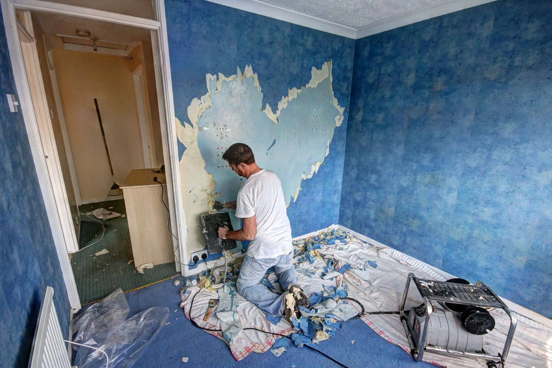 cost to refinish hardwood floors philadelphia of removing non load bearing walls issues to consider regarding removing wallpaper prior to taking down wall 134308985 576c330b3df78cb62c3e5b69