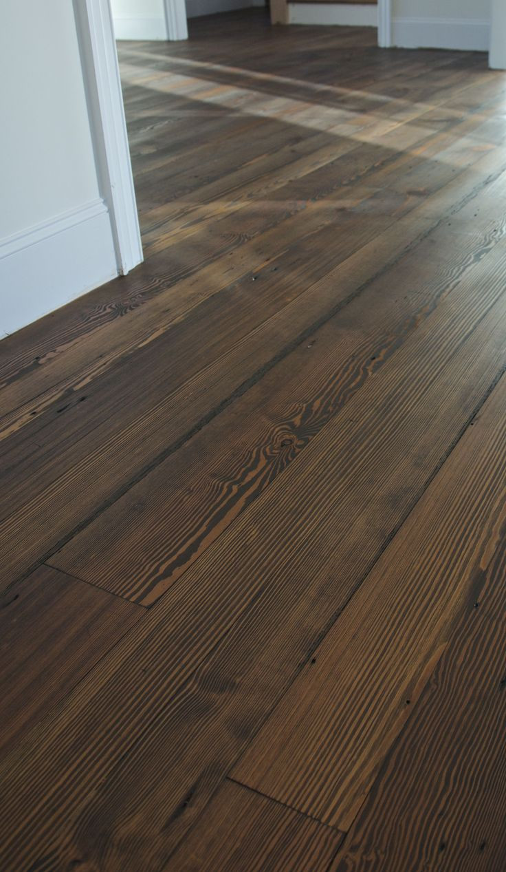 cost to sand and refinish hardwood floors uk of best 23 wood floors images on pinterest wood floor wood flooring inside saving for the color allison antique heart pine flooring shown with a dark stain