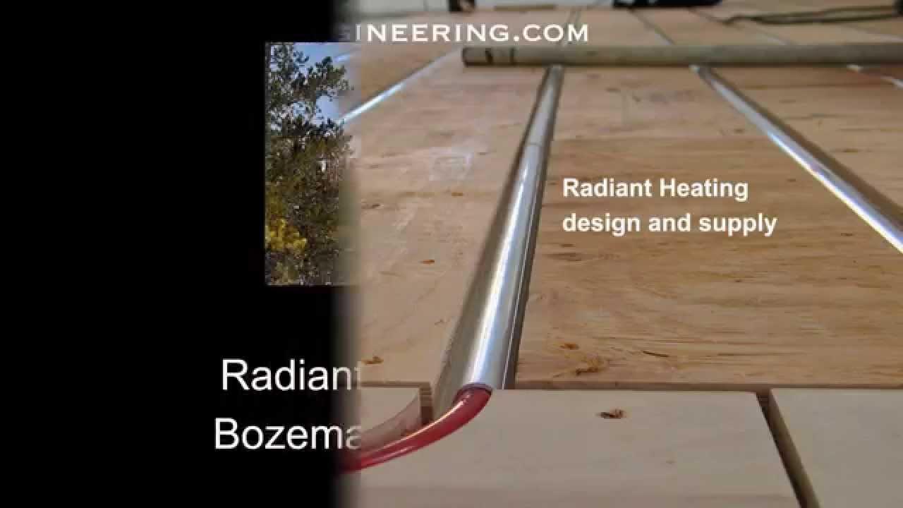 creekside hardwood floor supply of radiant underfloor heating with thermofin youtube regarding radiant underfloor heating with thermofin