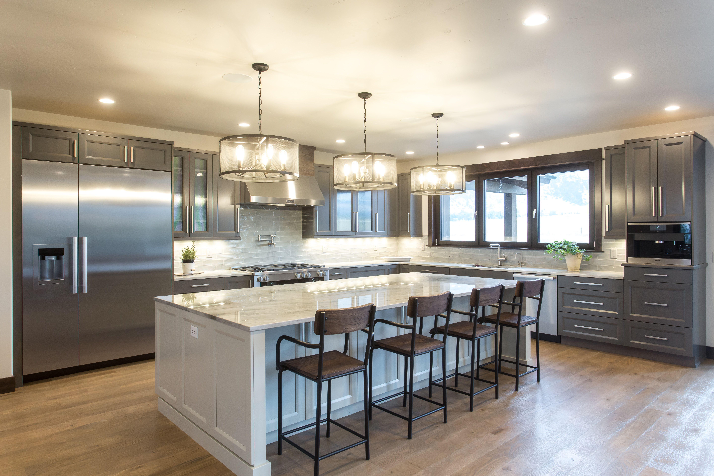 cv hardwood flooring of open kitchen with oversized island white oak hardwood flooring intended for open kitchen with oversized island white oak hardwood flooring bellmont shaker style cabinets