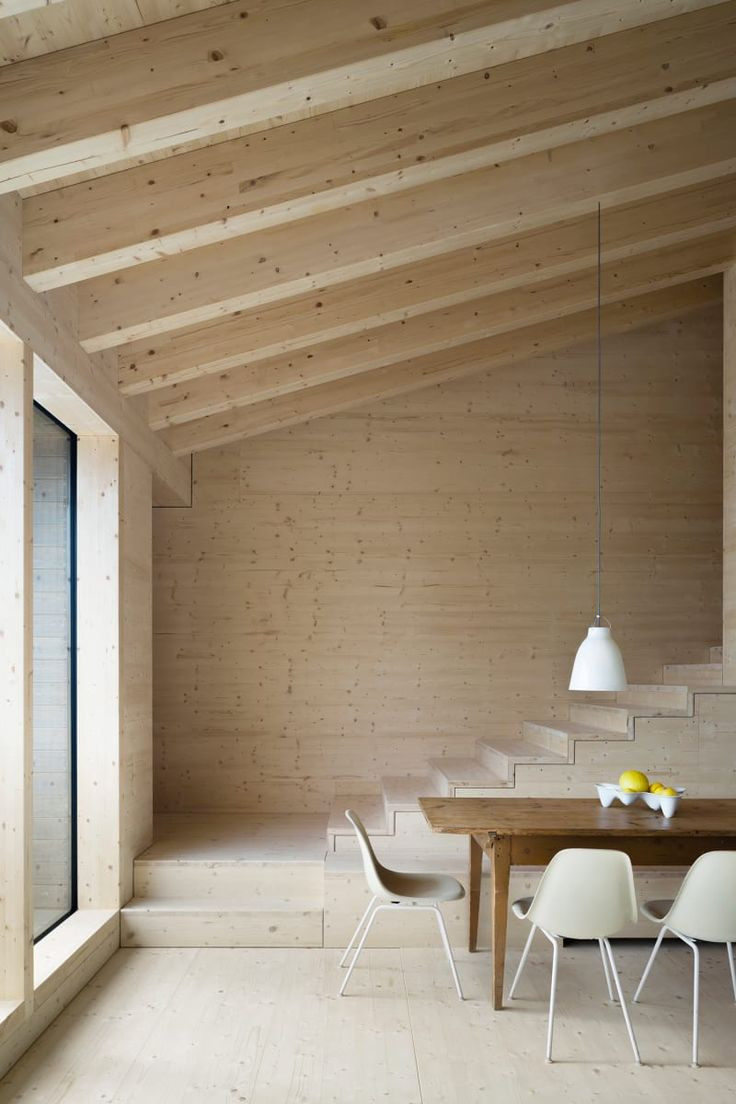 dan higgins hardwood floors of 98 best scale images on pinterest staircases stairways and ladders in a rural residence by yonder in the hills of germany features a double height living and dining room that sits beneath a gabled roof the wood clad interior
