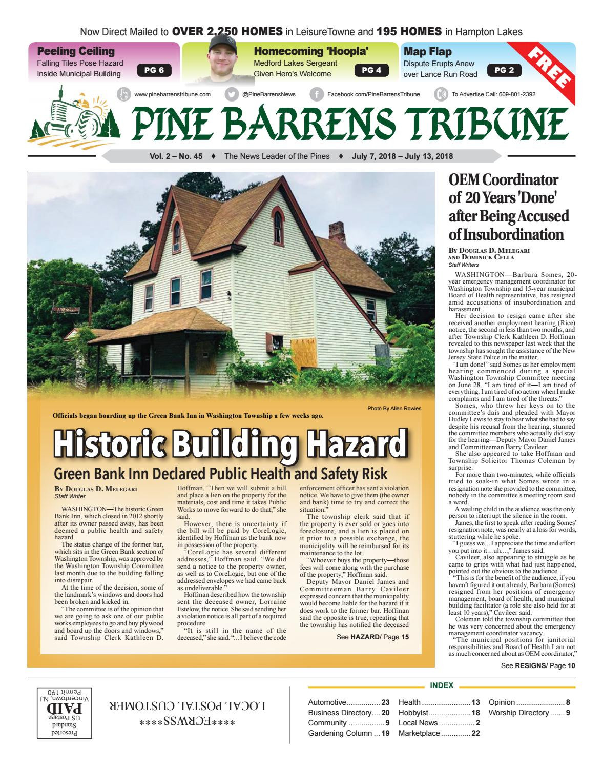 Dan Higgins Hardwood Floors Of July 7 2018 Pine Barrens Tribune by Pine Barrens Tribune issuu Intended for Page 1