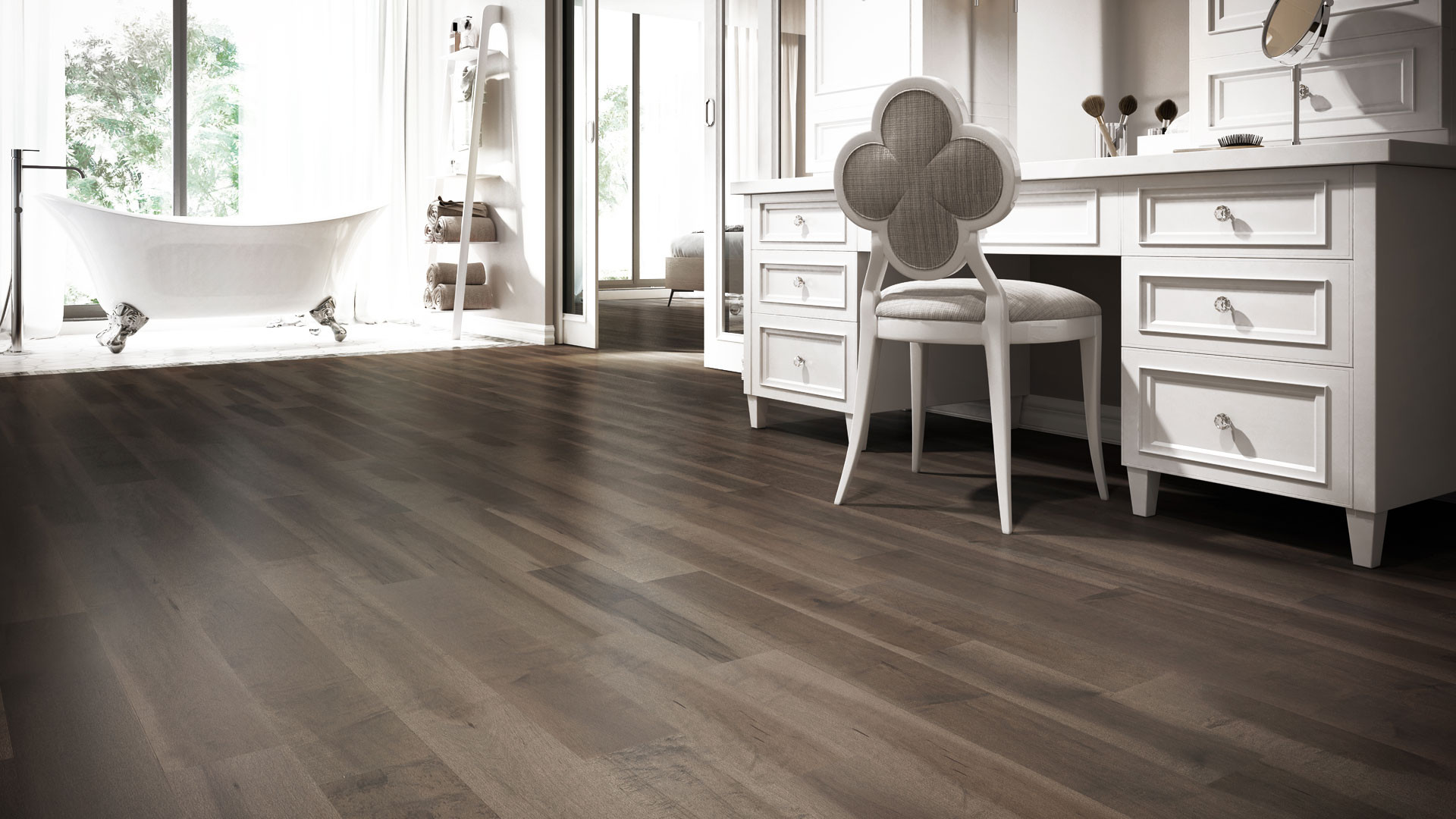 Dark Hardwood Floor Colors Of 4 Latest Hardwood Flooring Trends Lauzon Flooring Inside Learn More About Our Pure Genius by Reading Our Blog Post the Smartest Hardwood Flooring Weve Ever Seen