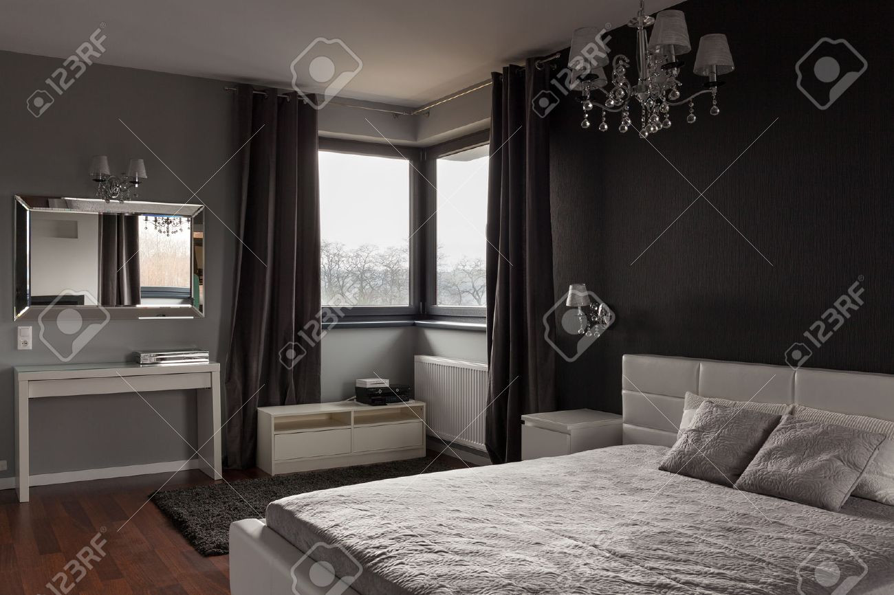 dark hardwood floors gray walls of bathroom dark expensive bedroom with black and grey walls stock throughout bathroomdark expensive bedroom with black and grey walls stock photo trim brown fu furniture