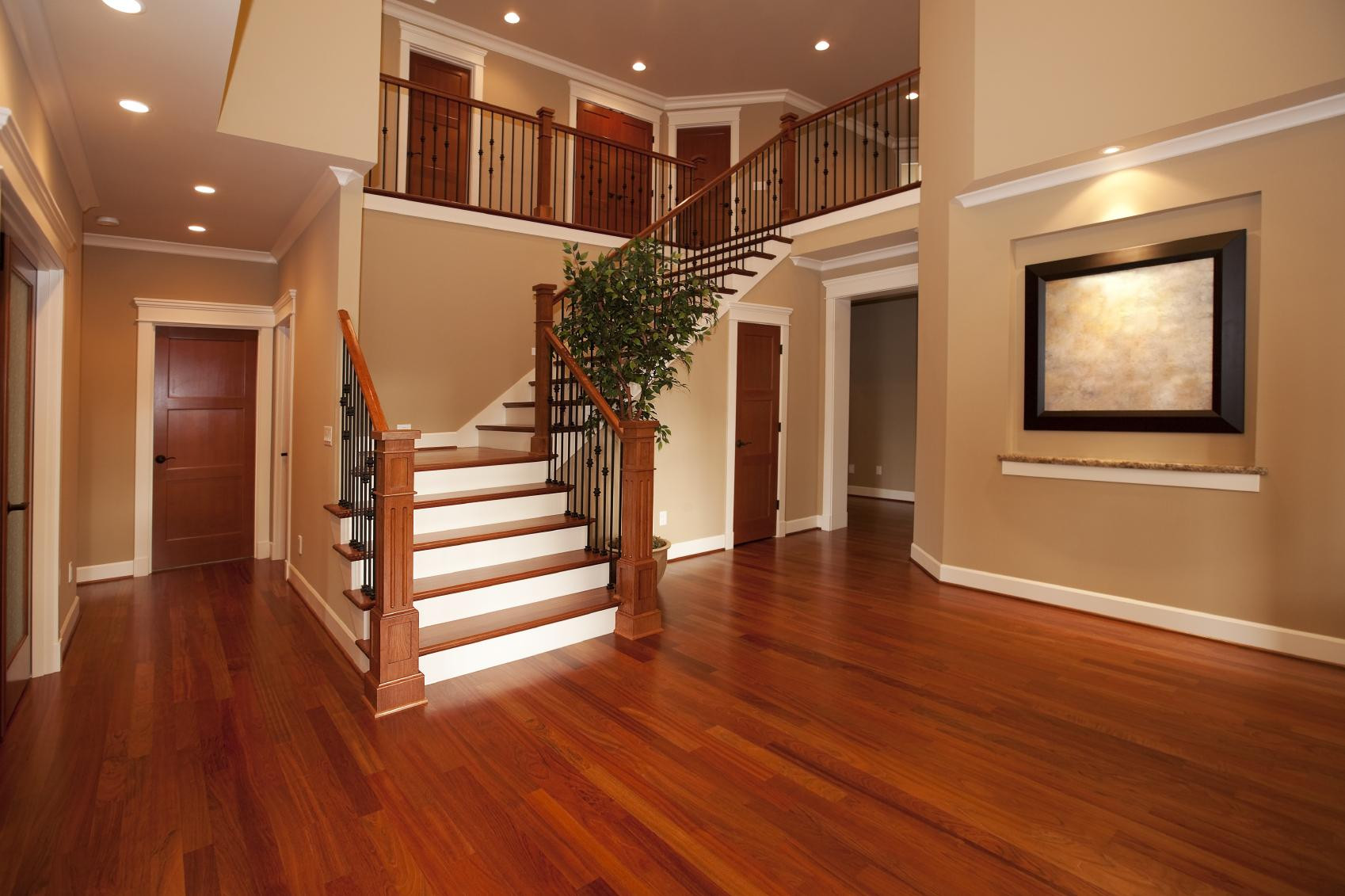 16 Perfect Dark Hardwood Floors with Light Oak Trim ...