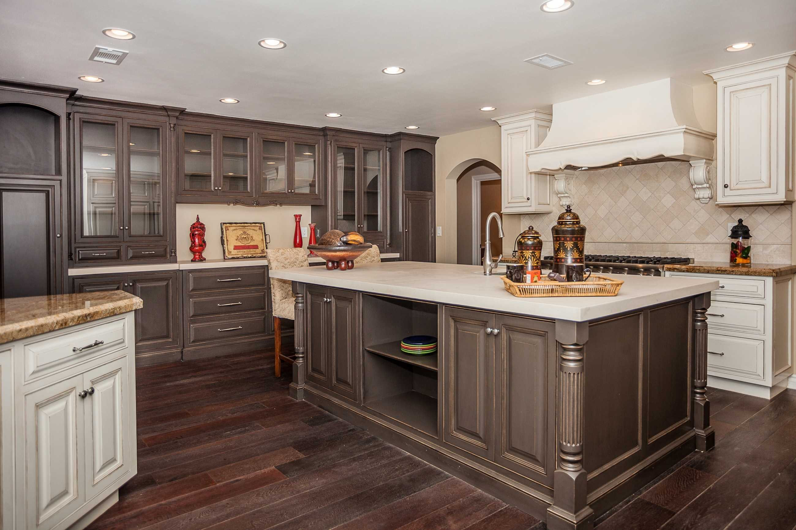 Dark Hardwood Floors with Light Wood Cabinets Of Wood Cabinets with Wood Floors Dark Kitchen Cabinets with Light Pertaining to Wood Cabinets with Wood Floors Dark Kitchen Cabinets with Light Floors thegreenstation