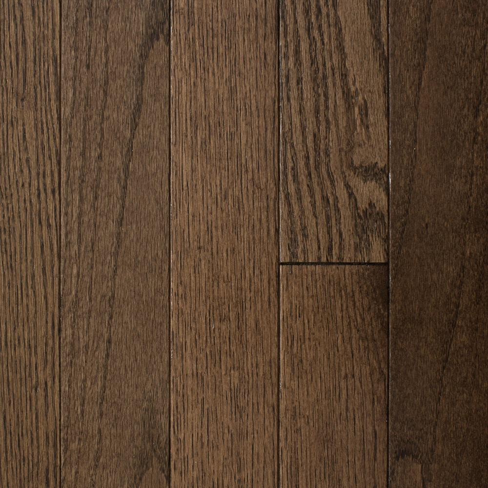 Dark Vs Light Hardwood Floors Of Red Oak solid Hardwood Hardwood Flooring the Home Depot In Oak Bourbon 3 4 In Thick X 2 1 4 In