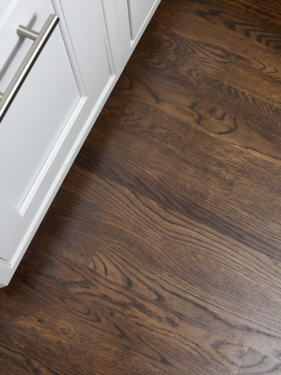 dark walnut hardwood floor stain of fun family focused baking kitchen floors pinterest regarding instead of ripping out the existing wood floor the uneven floors were leveled sanded