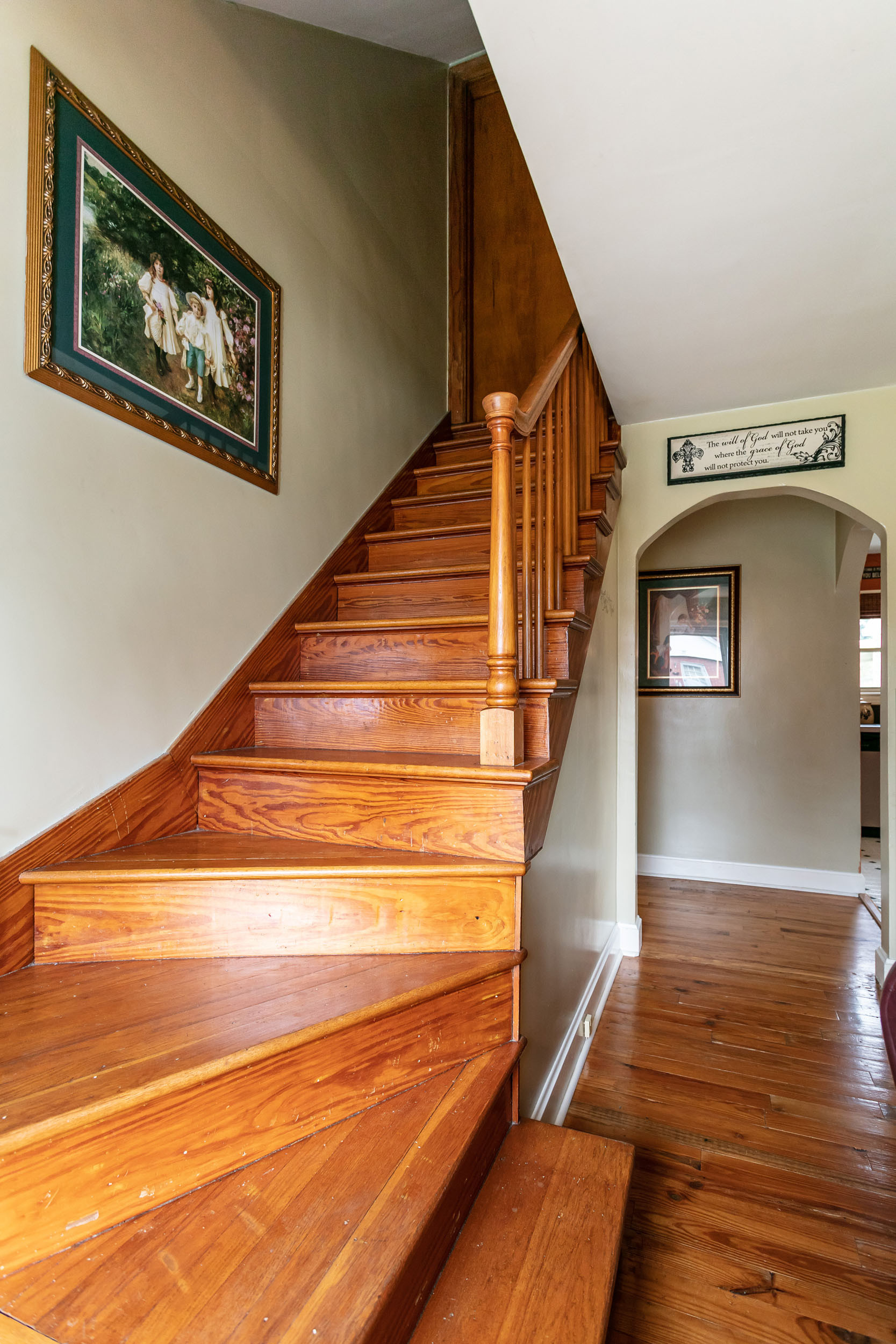 different hardwood floors upstairs and downstairs of 313 n forest street lebanon the lancaster agency with previous next
