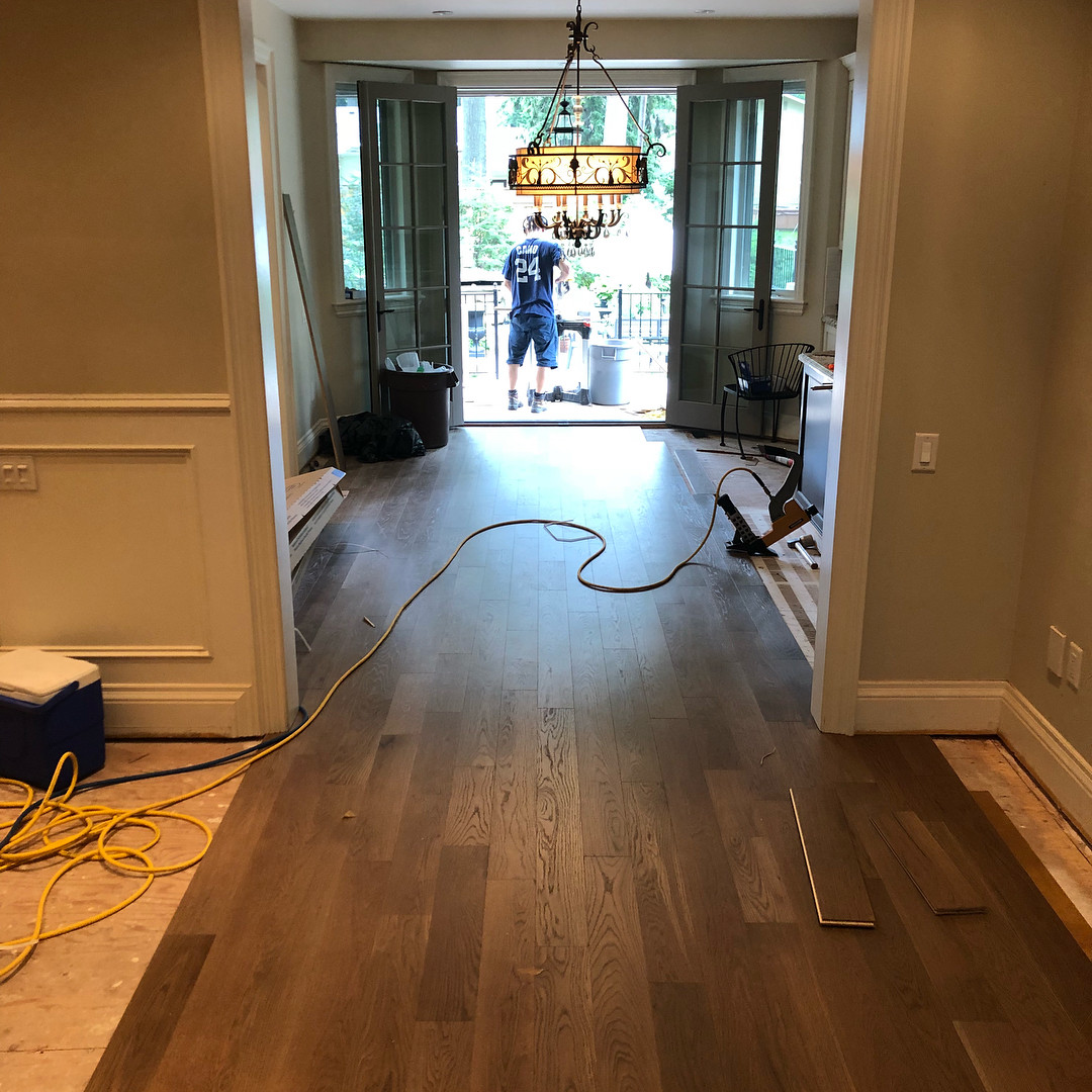 discount hardwood flooring mississauga of wirebrushed hash tags deskgram for the custommade wirebrushed has arrived time to install tundra engineered