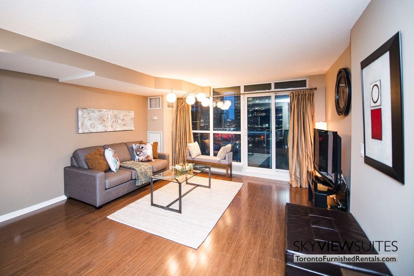 discount hardwood flooring toronto of waterclub b two bedroom furnished apartment in furnished apartment living room waterfront