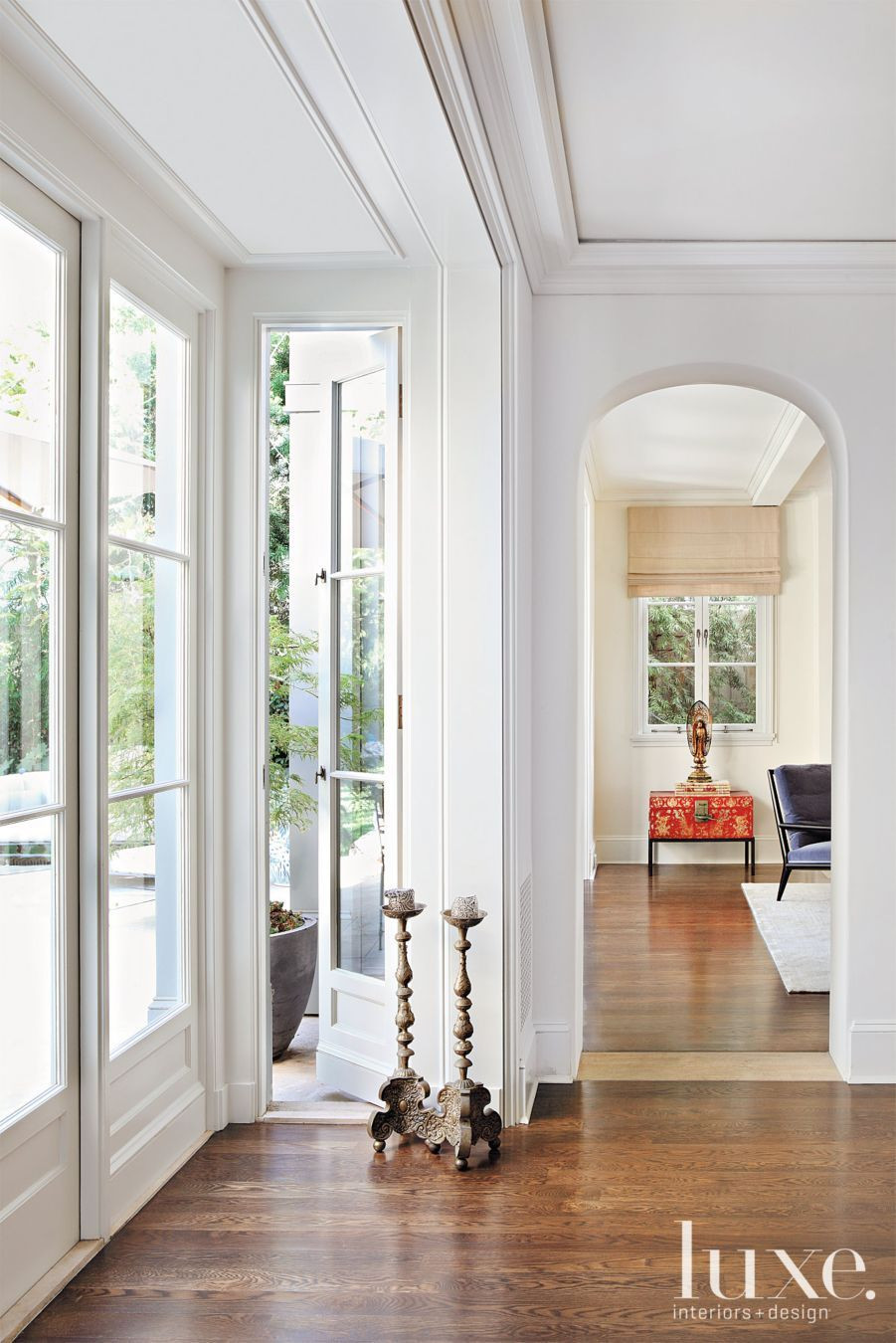 discount hardwood floors and molding los angeles of arched interior doorways and views to the garden reflect the within arched interior doorways and views to the garden reflect the provena§al influence that informs the home