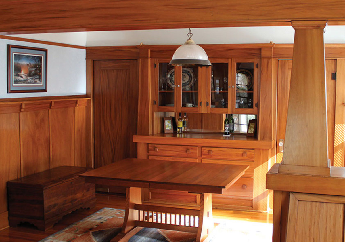 discount hardwood floors molding california of finishing basics for woodwork floors restoration design for throughout the dining room in a san diego bungalow completely outfitted in a highly figured red