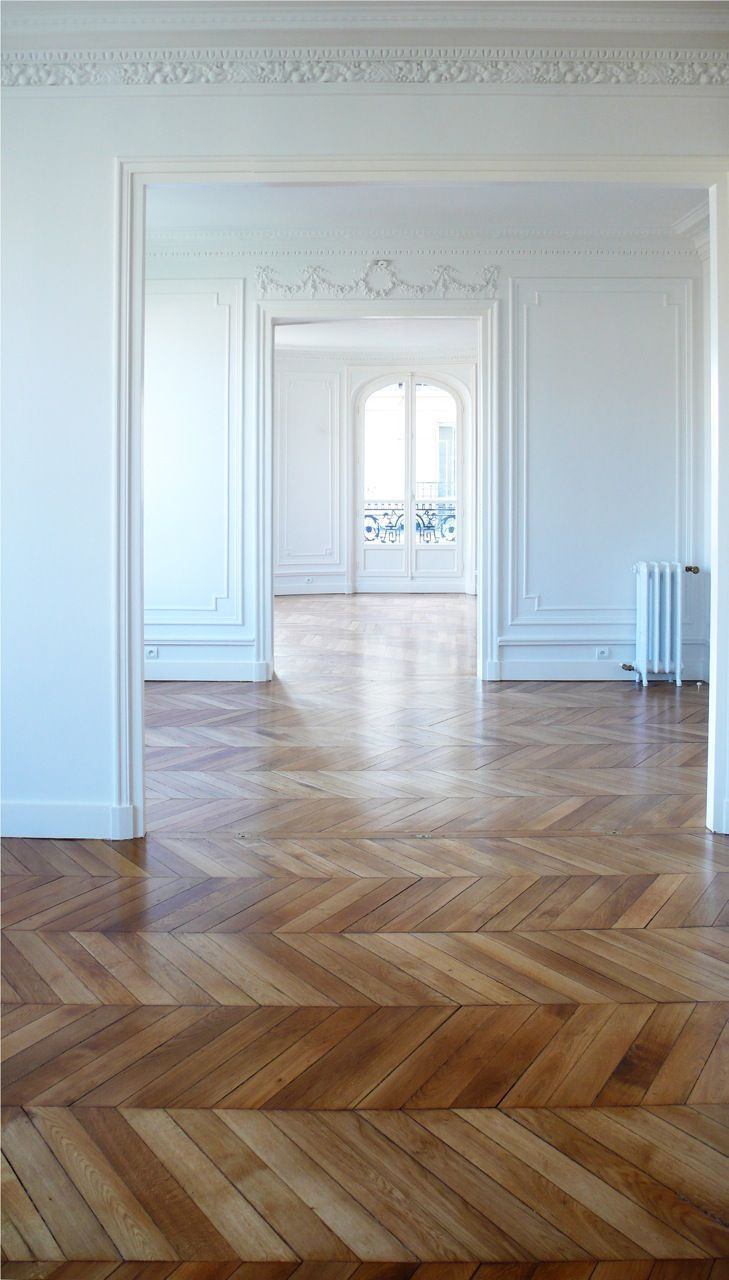 discount hardwood floors molding los angeles of 59 best wood floors images on pinterest home ideas wood flooring pertaining to simple white french style rooms with ornate molding and herringbone wood flooring
