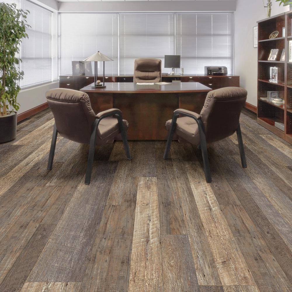 distressed hardwood flooring home depot of multi width x 47 6 in stafford oak luxury vinyl plank flooring for stafford oak luxury vinyl plank flooring 19 53