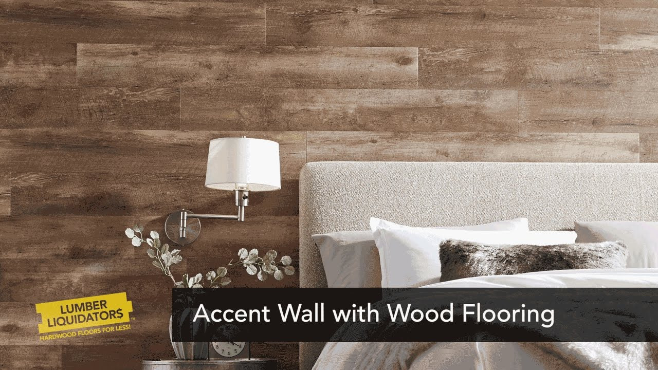 diy hardwood floor on concrete of how to create a laminate flooring accent wall youtube regarding how to create a laminate flooring accent wall
