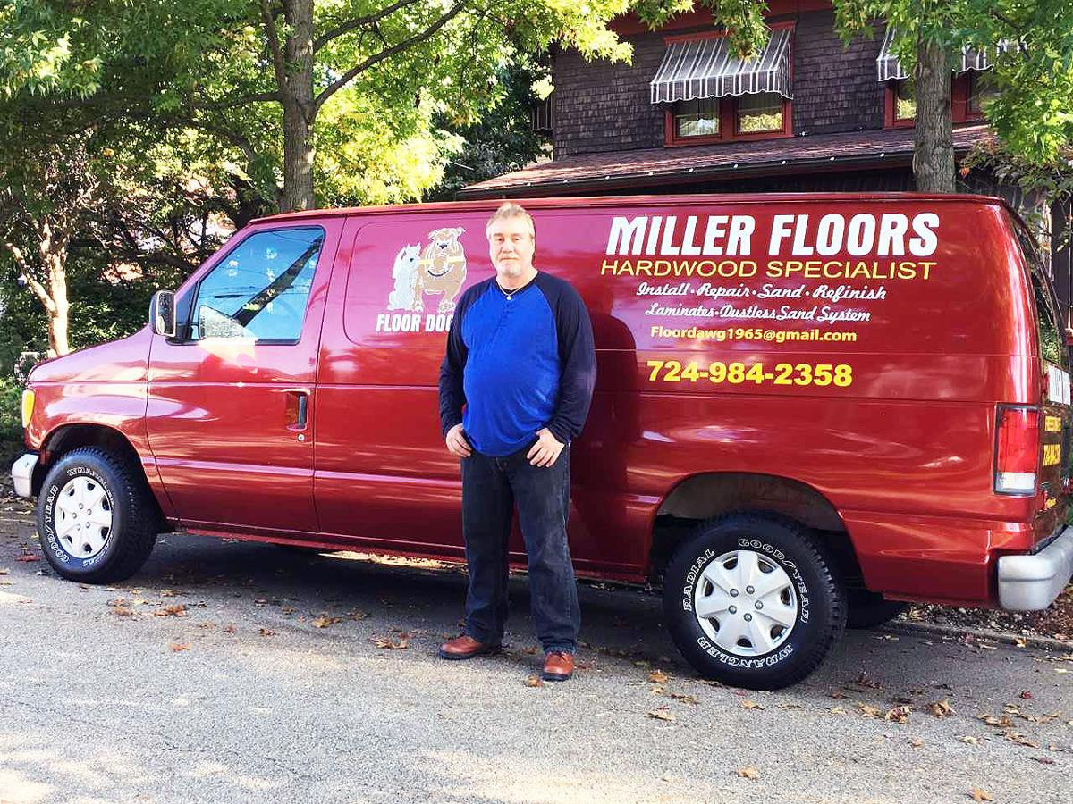 dustless hardwood floor refinishing pittsburgh of new business miller floors opens in uniontown local news intended for buy now