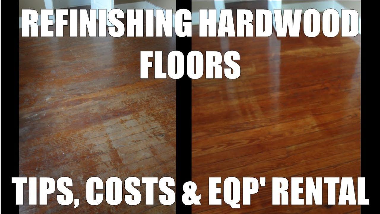 Dustless Hardwood Floor Refinishing Pittsburgh Of Refinishing Hardwood Floors Costs and Home Depot Rentals Youtube within Maxresdefault