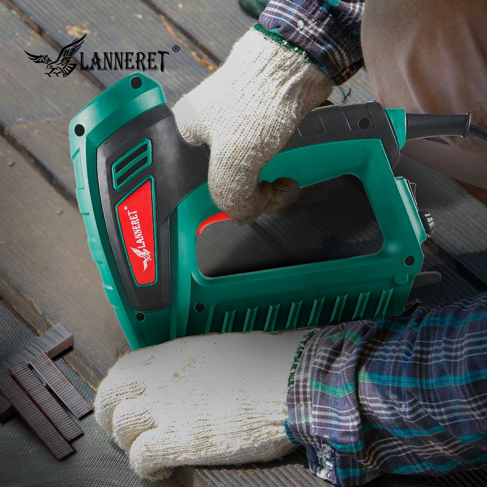 Electric Hardwood Floor Nailer Of Aliexpress Com Buy Lanneret 5a 720w Electric Tacker 2 In 1 with Regard to Aliexpress Com Buy Lanneret 5a 720w Electric Tacker 2 In 1 Electric Nailer Staple Gun Power tools Wood Frame Nail Gun From Reliable Nail Guns Suppliers On