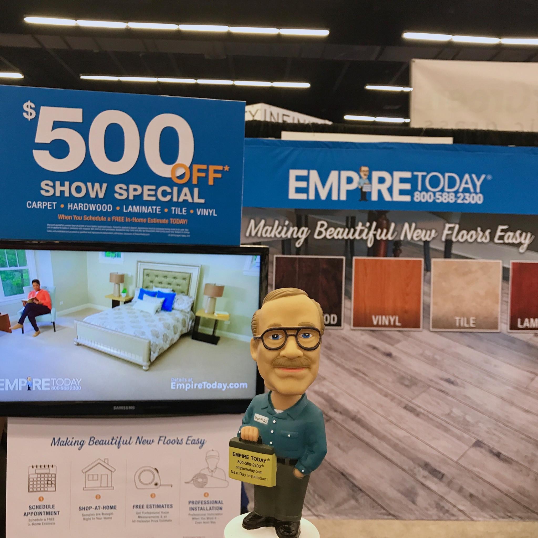 empire carpet and hardwood floors of empire home show 1 empire today blog regarding empire home show 1