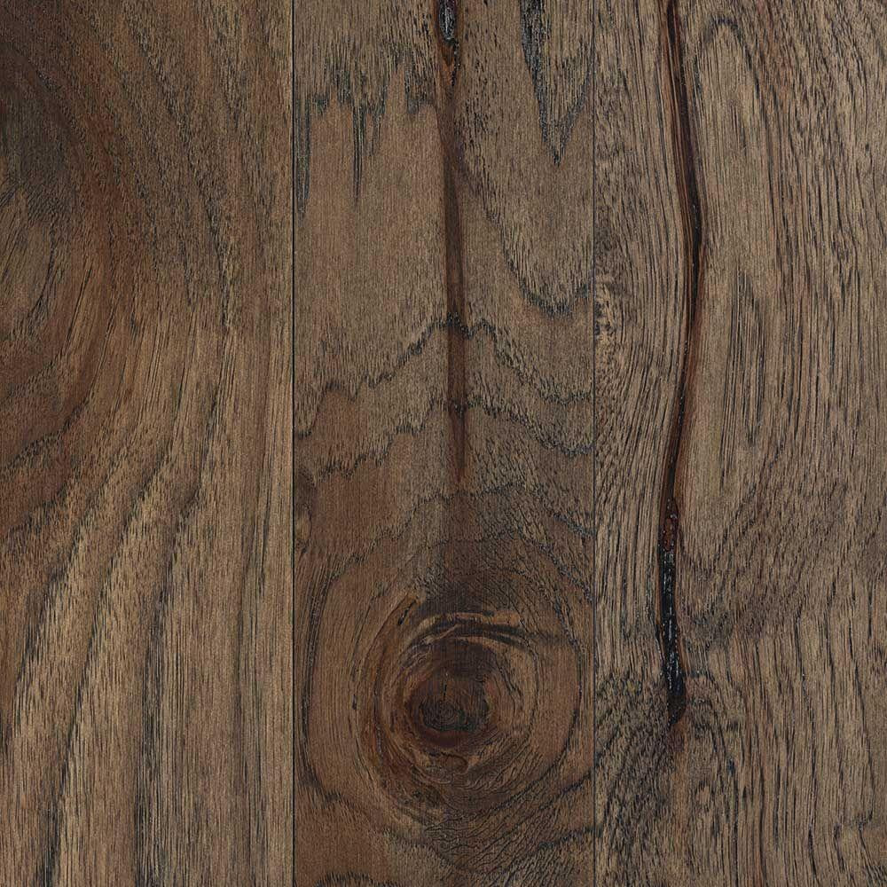 Engineered Hardwood Flooring Ratings Of Mohawk Gunstock Oak 3 8 In Thick X 3 In Wide X Varying Length In Hamilton Weathered Hickory 3 8 In Thick X 5 In Wide X