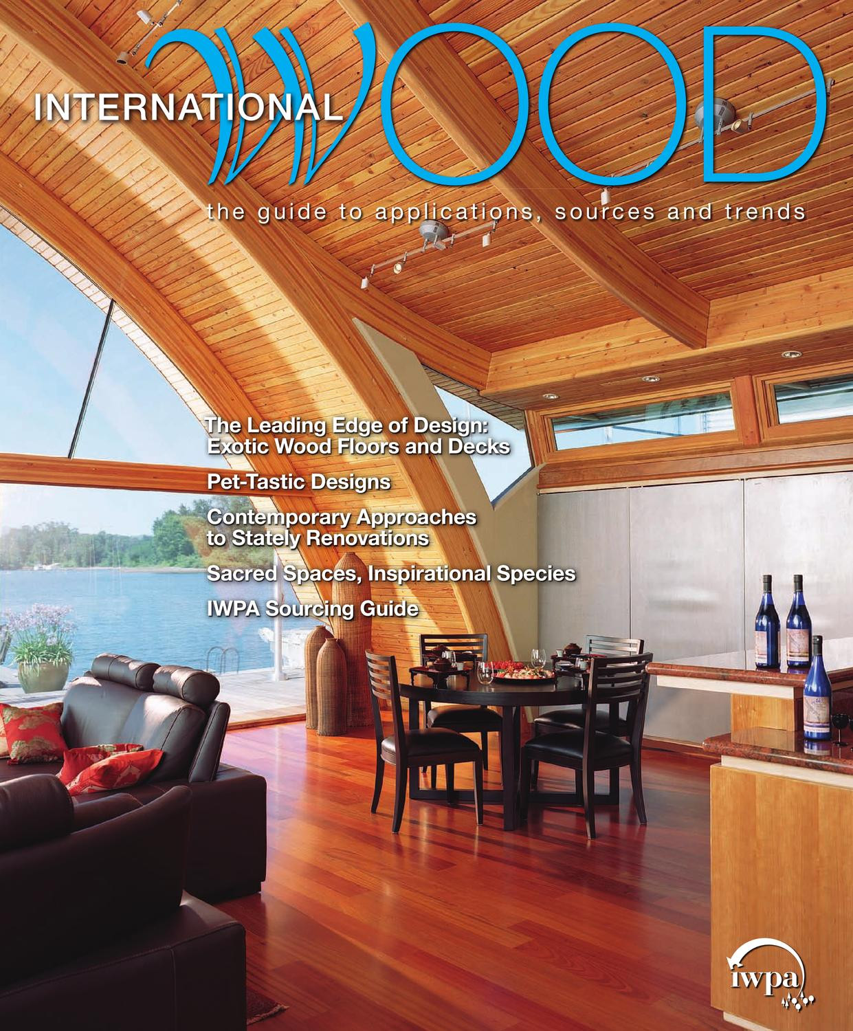 eucalyptus hardwood flooring reviews of international wood magazine 09 by bedford falls communications issuu with regard to page 1