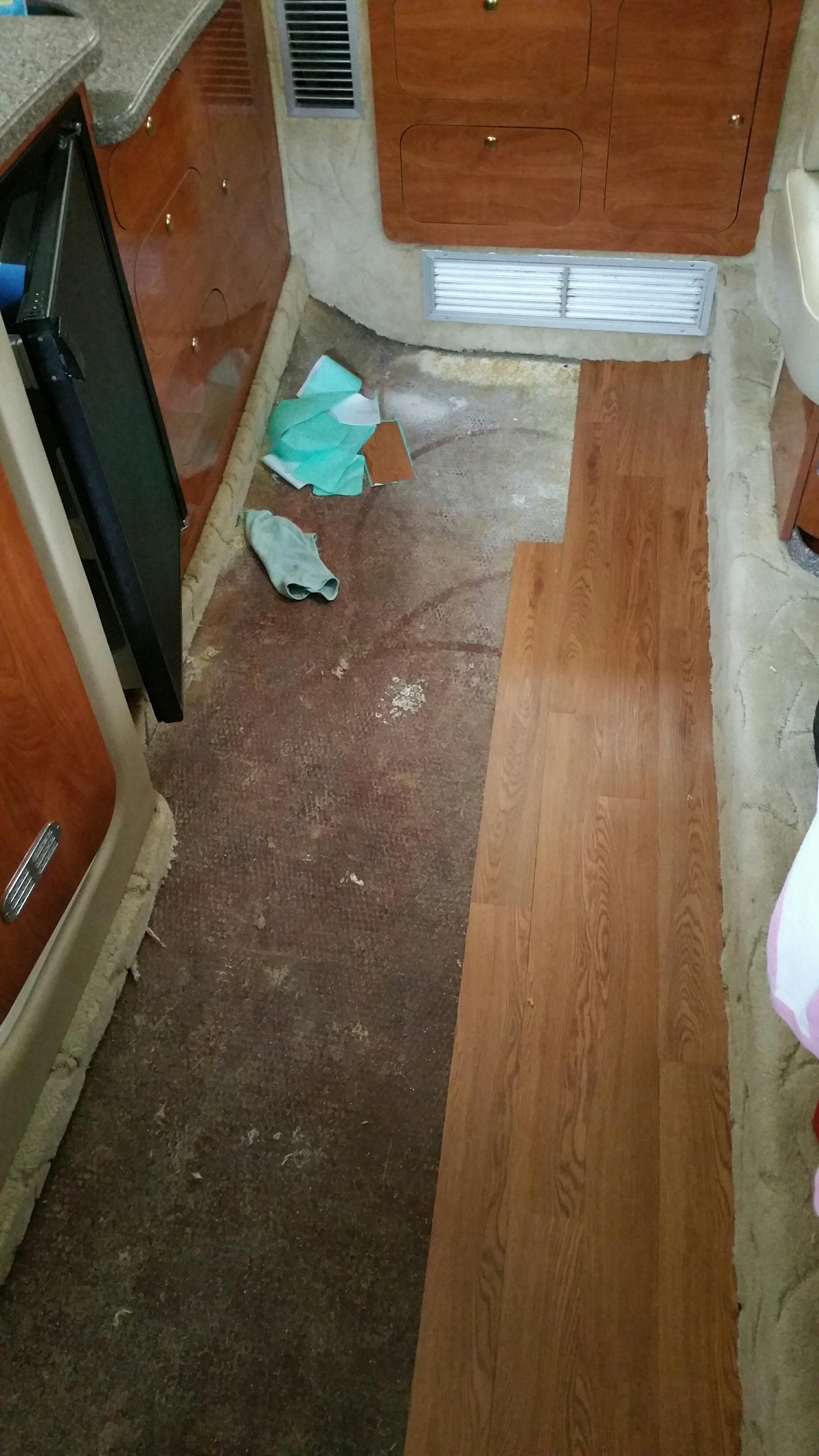 fake hardwood floor over carpet of replacing carpet in my 342 rinker boats inside google reddit