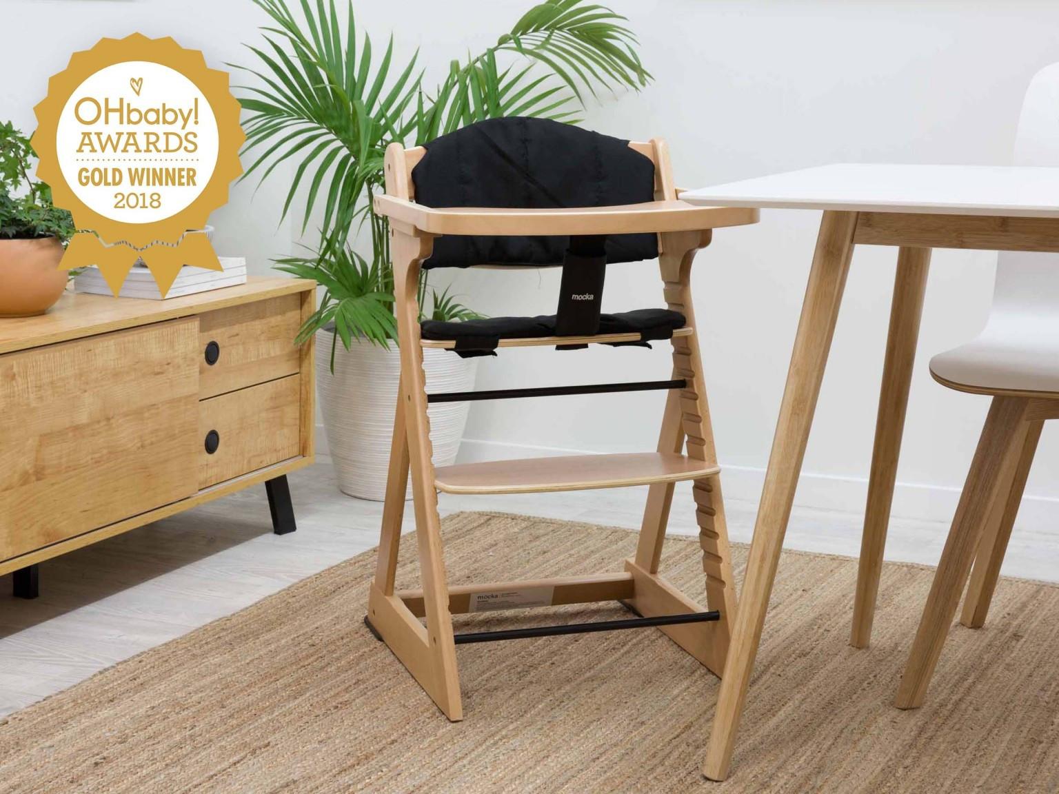filling gaps in hardwood floors of mocka original highchair highchairs pertaining to mocka original wooden highchair