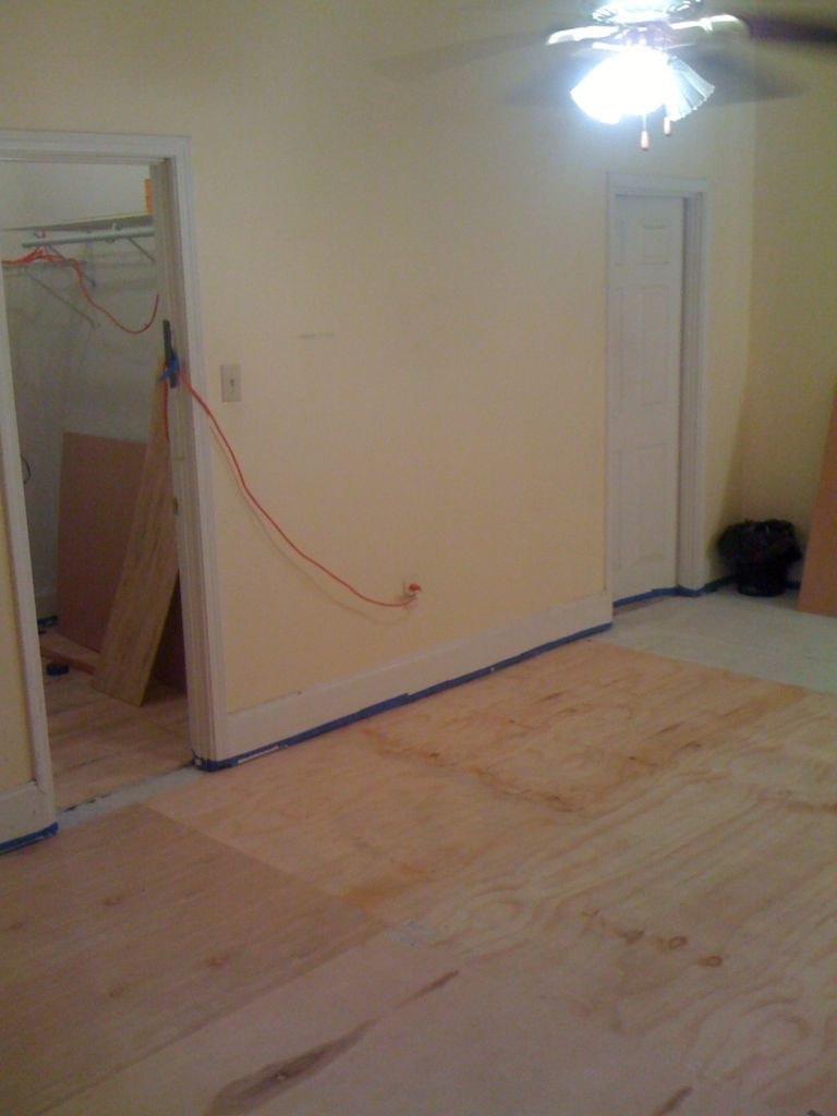 Filling Gaps In Old Hardwood Floors Of Diy Plywood Floors 9 Steps with Pictures within Picture Of Install the Plywood Floor