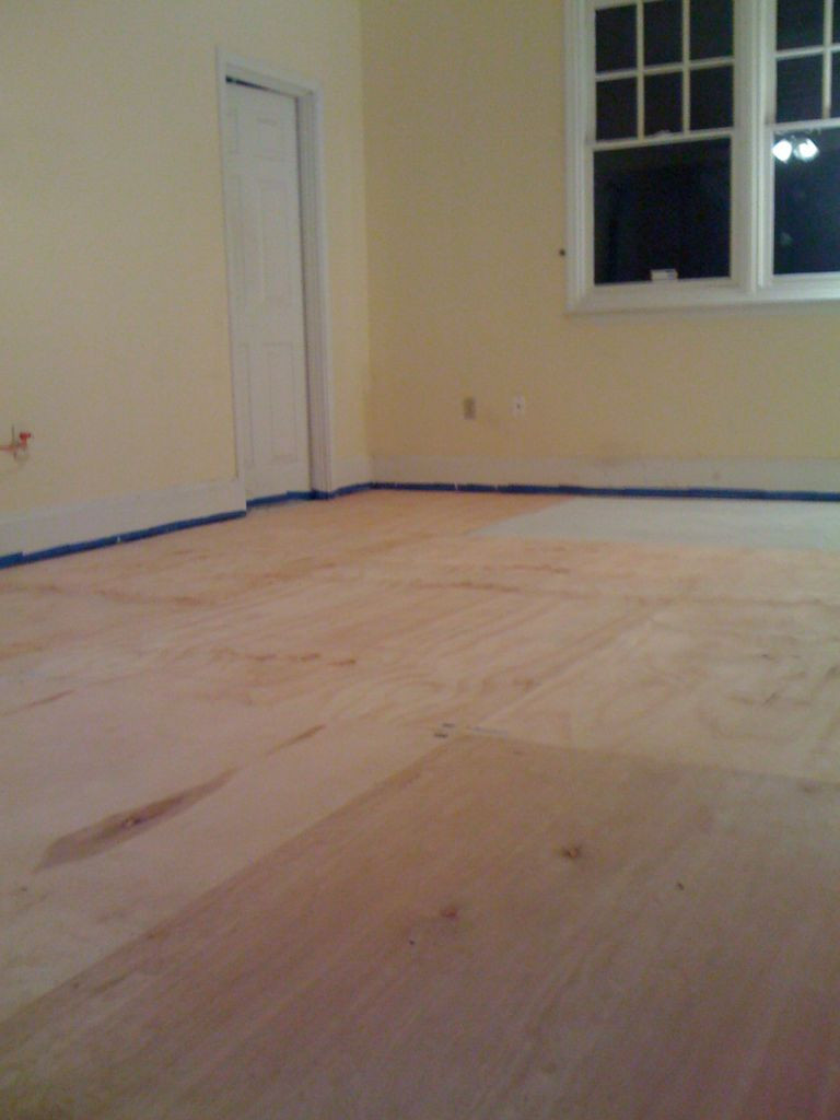 filling large gaps in hardwood floors of diy plywood floors 9 steps with pictures regarding picture of install the plywood floor