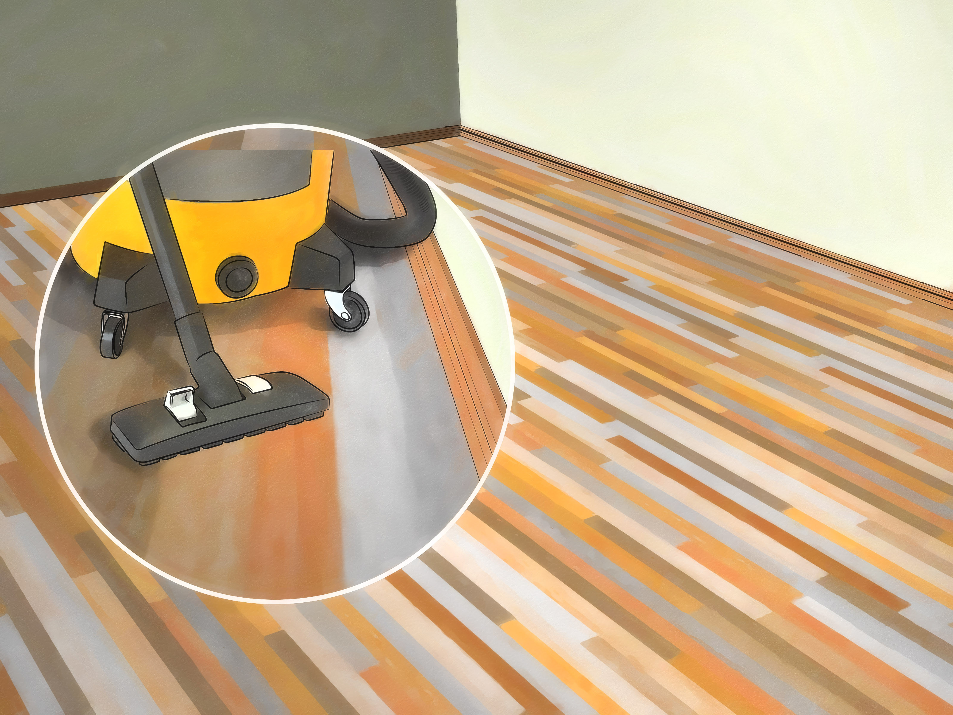 floating hardwood floor on concrete of how to sand hardwood floors with pictures wikihow regarding sand hardwood floors step 22