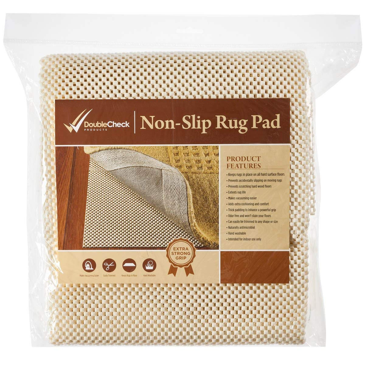 floor padding under hardwood of amazon com doublecheck products non slip area rug pad for hardwood inside amazon com doublecheck products non slip area rug pad for hardwood floors size 2 x 8 extra strong grip thick padding and kitchen dining