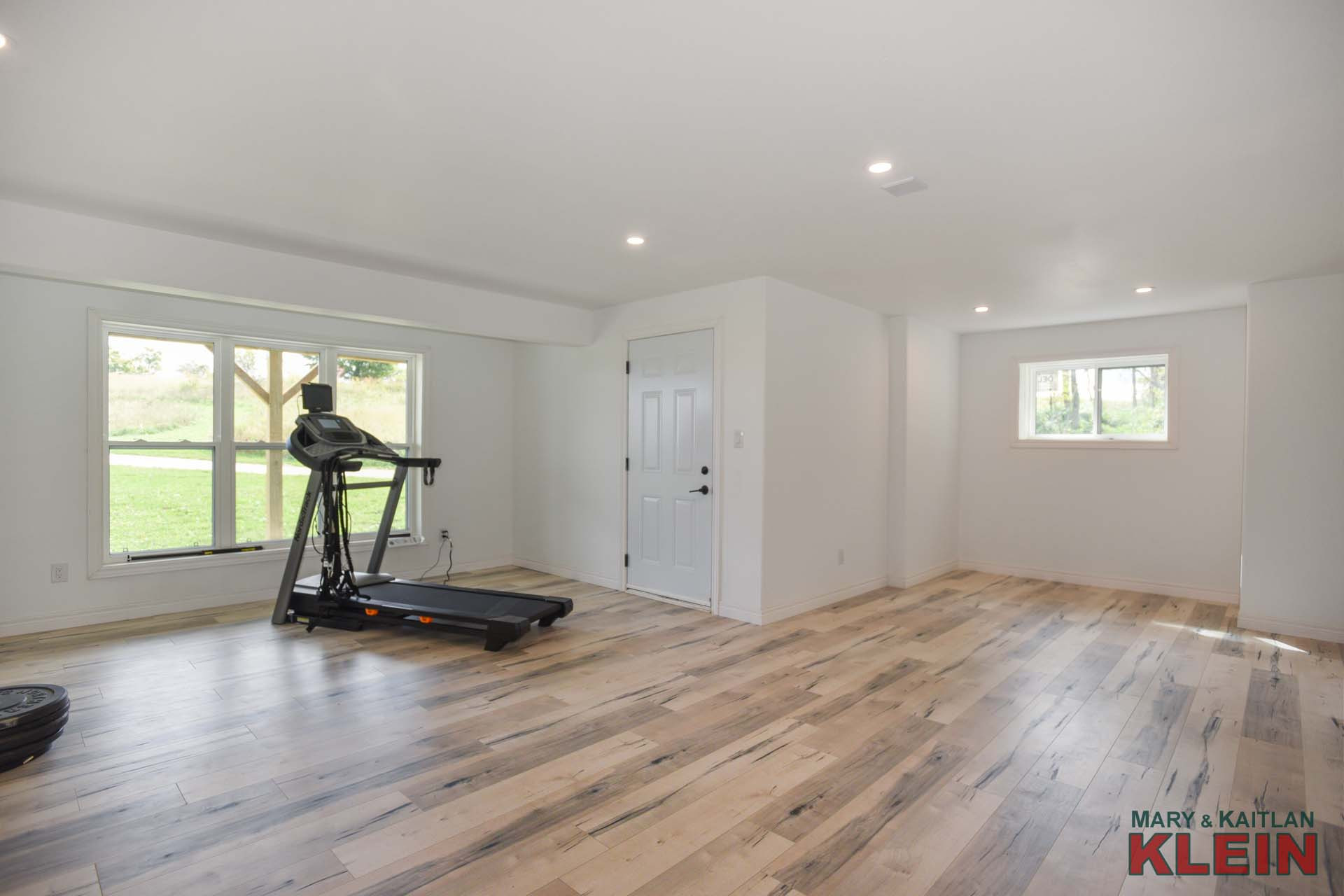 Forest Accents Hardwood Flooring Reviews Of Mulmur Brand New Bungalow On 24 58 Acres for Sale Klein for Barn Doors Lead Into Another Finished Room Currently An Exercise area