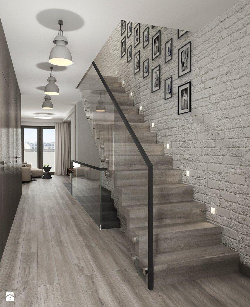 gray hardwood floor examples of schody styl nowoczesny zdja™cie od archissima schody pinterest within schody styl nowoczesny zdja™cie od archissima