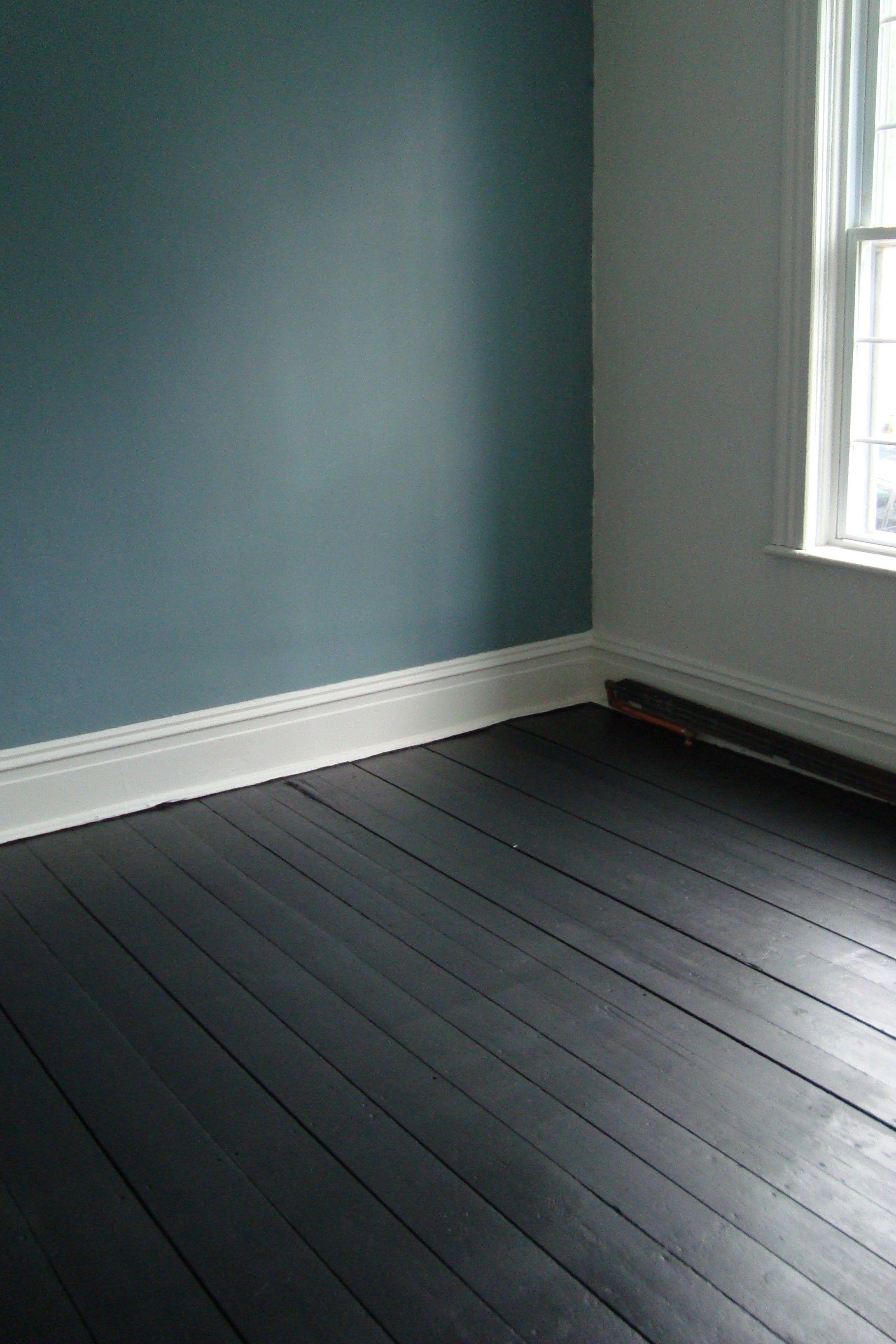 gray hardwood floors bedroom of painted floorboards province blue benjamin moore home pinte regarding painted floorboards province blue benjamin moore more