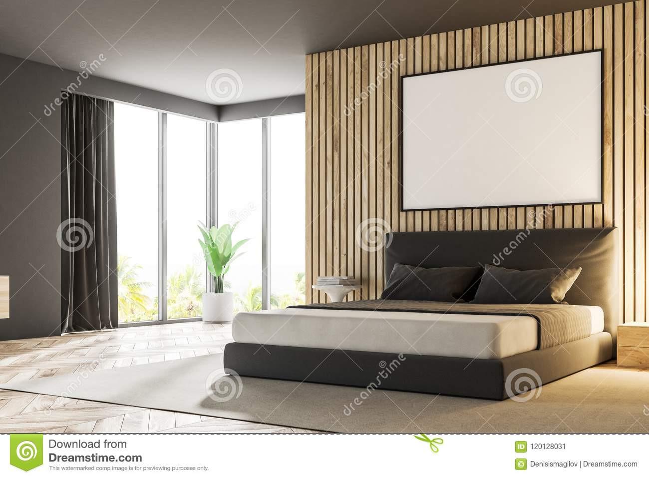 gray hardwood floors bedroom of wood master bedroom corner poster stock illustration illustration regarding wood master bedroom corner poster