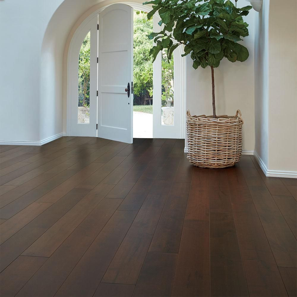 Hand Scraped Hardwood Flooring Definition Of Malibu Wide Plank Maple Zuma 3 8 In Thick X 6 1 2 In Wide X with Regard to Malibu Wide Plank Maple Zuma 3 8 In Thick X 6 1
