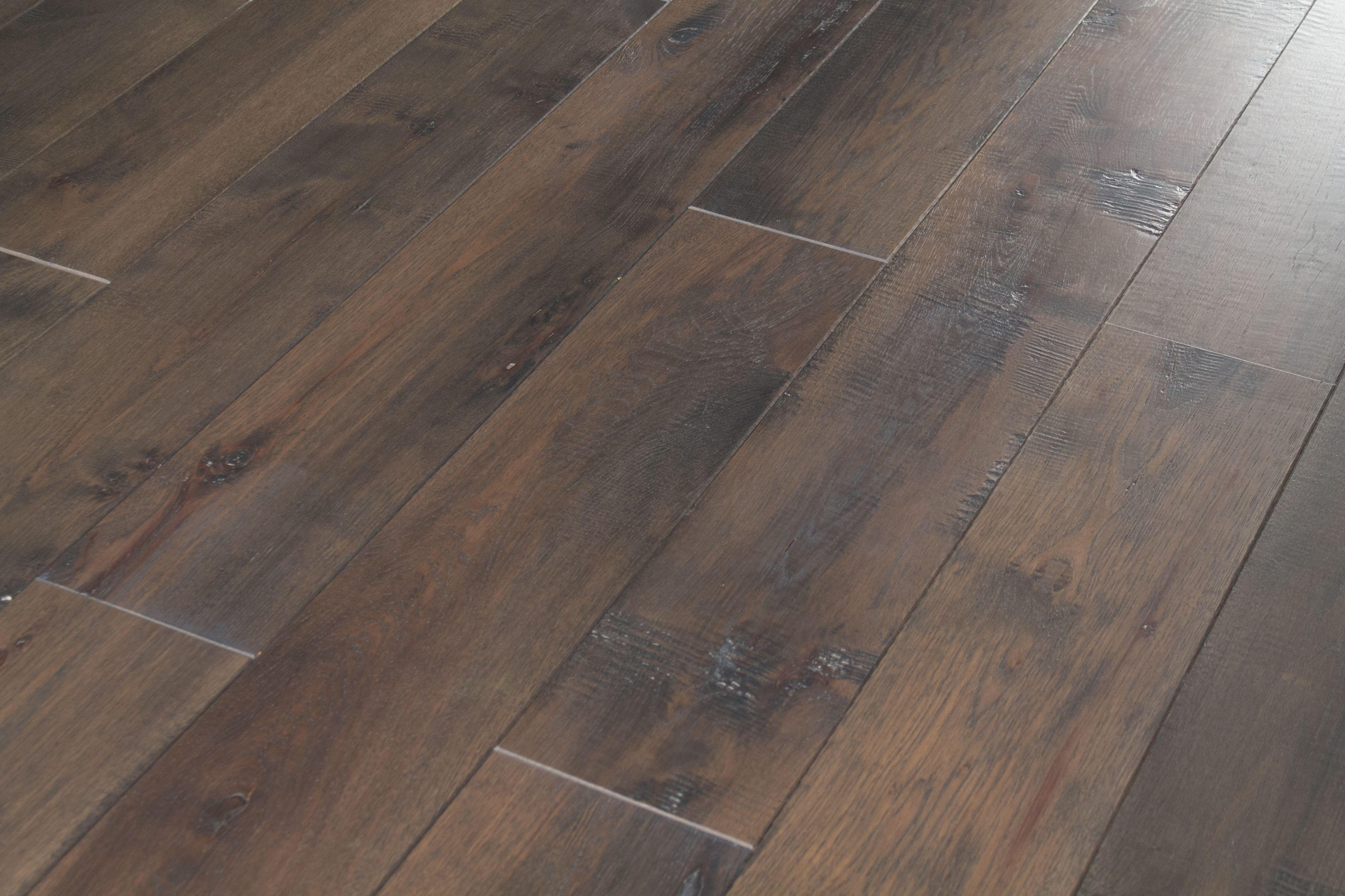 hand scraped hardwood flooring wide plank of wide plank hand scraped dark brown hickory hardwood floori for wide plank hand scraped gray and brown hickory hardwood flooring