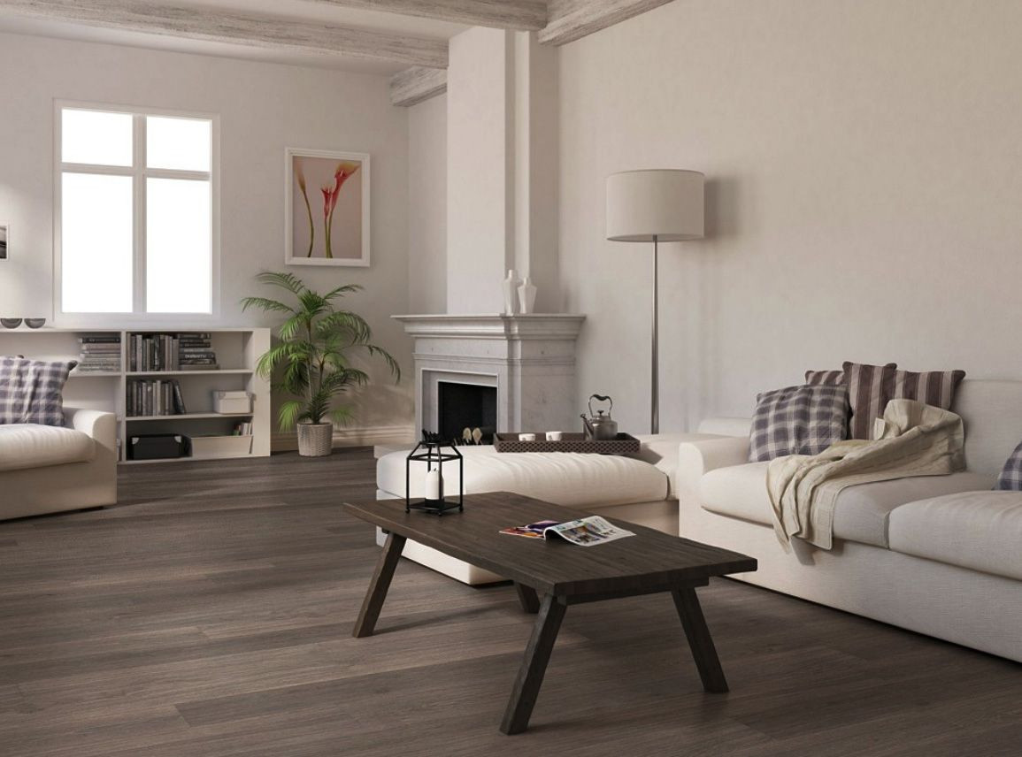 Hardwood Floor Acclimation Of Alluring White and Brown Decoration Ideas with Modern Interior Throughout Alluring White and Brown Decoration Ideas with Modern Interior Design for Living Room and Dark Brown Eco Friendly Wood Flooring Along with Rectangular Dark