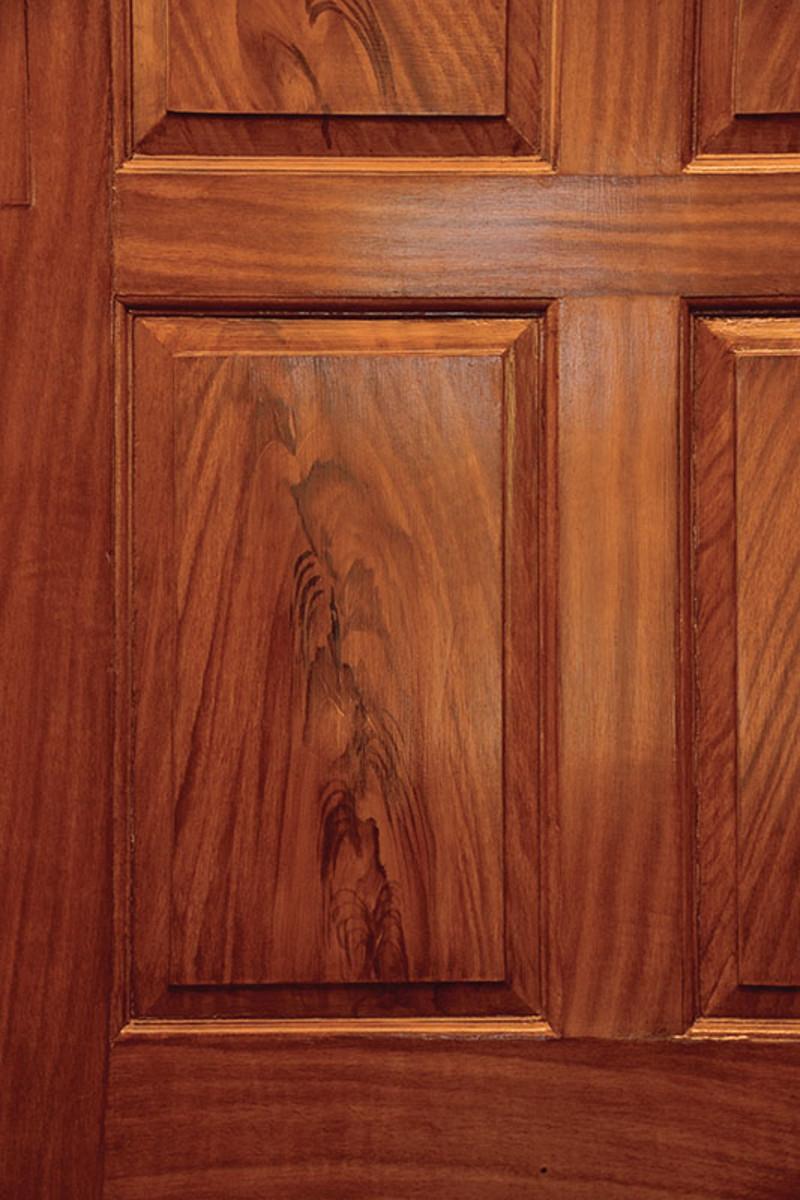 Hardwood Floor Borders Inlays Of Finishing Basics for Woodwork Floors Restoration Design for Inside Re Creation Of Ca 1760s Grain Figure Simulating Mahogany at the Georgian
