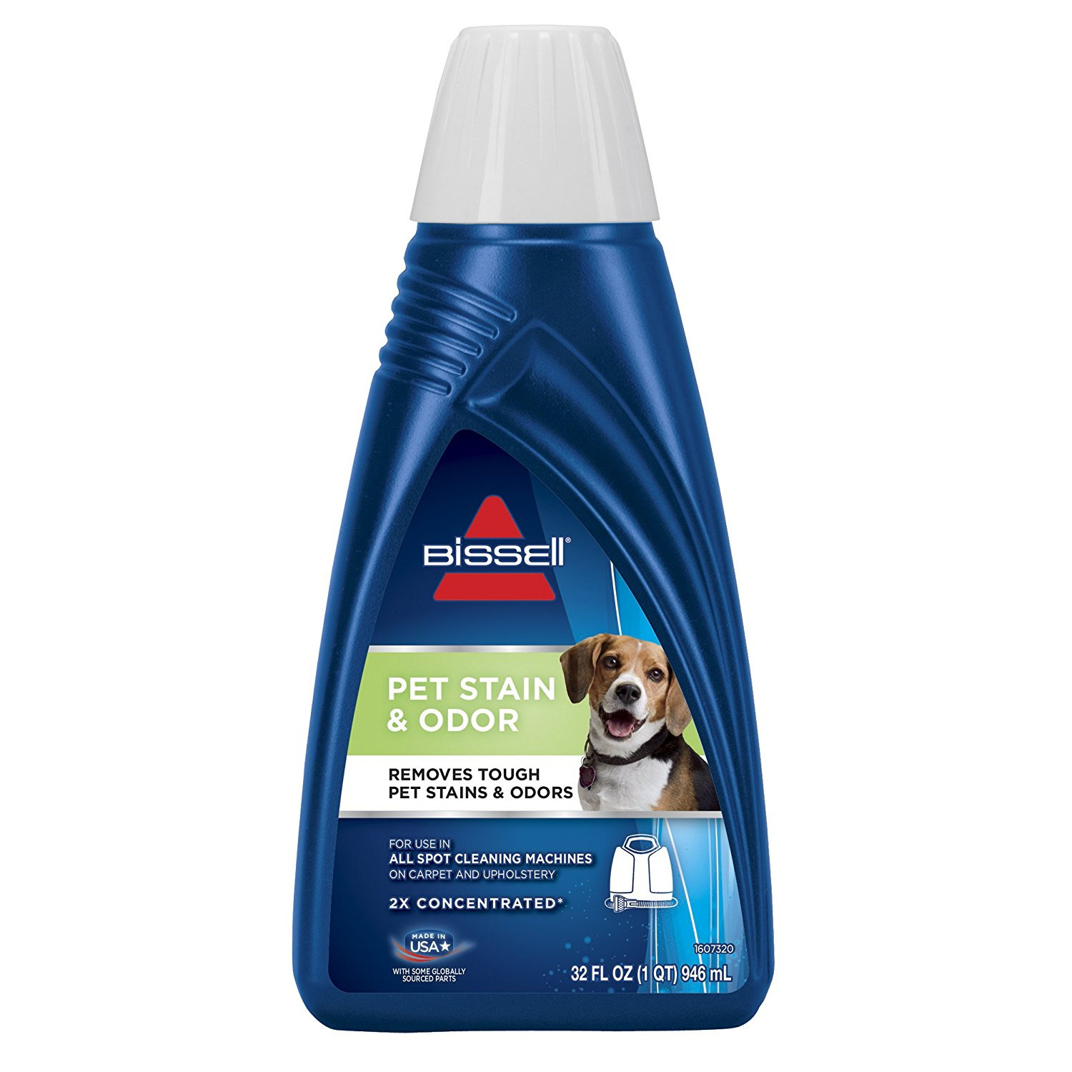hardwood floor cleaner for pets of amazon com bissell 2x pet stain odor portable machine formula 32 in amazon com bissell 2x pet stain odor portable machine formula 32 ounces 74r7 home kitchen