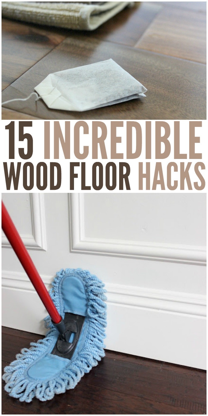 hardwood floor cleaner home remedy of 15 wood floor hacks every homeowner needs to know inside 15 incredible wood floor hacks that every homeowner should know