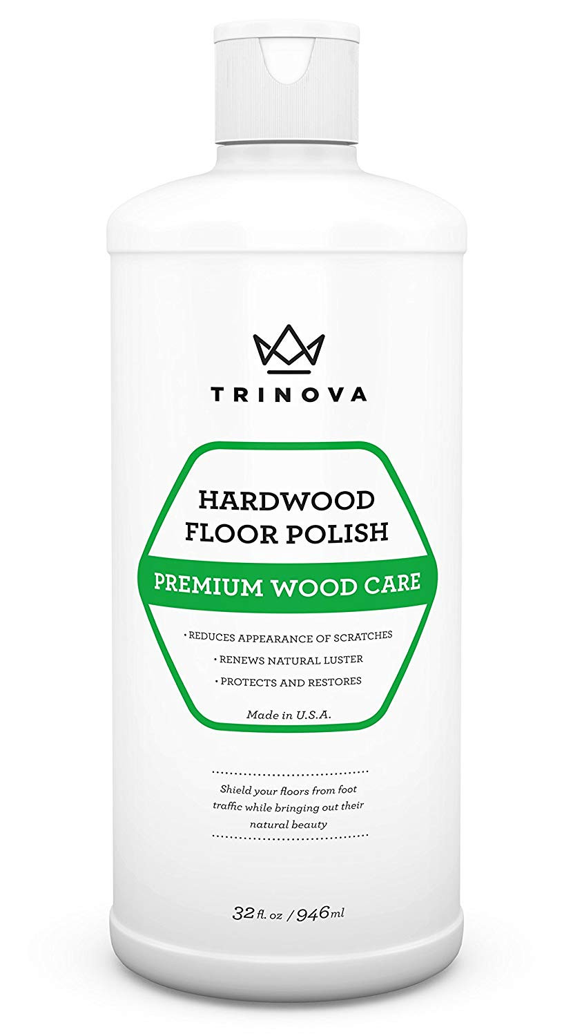 Hardwood Floor Cleaner Liquid Of Amazon Com Trinova Hardwood Floor Polish and Restorer High Gloss with Amazon Com Trinova Hardwood Floor Polish and Restorer High Gloss Wax Protective Coating Best Resurfacing Applicator with Mop or Machine to Restore