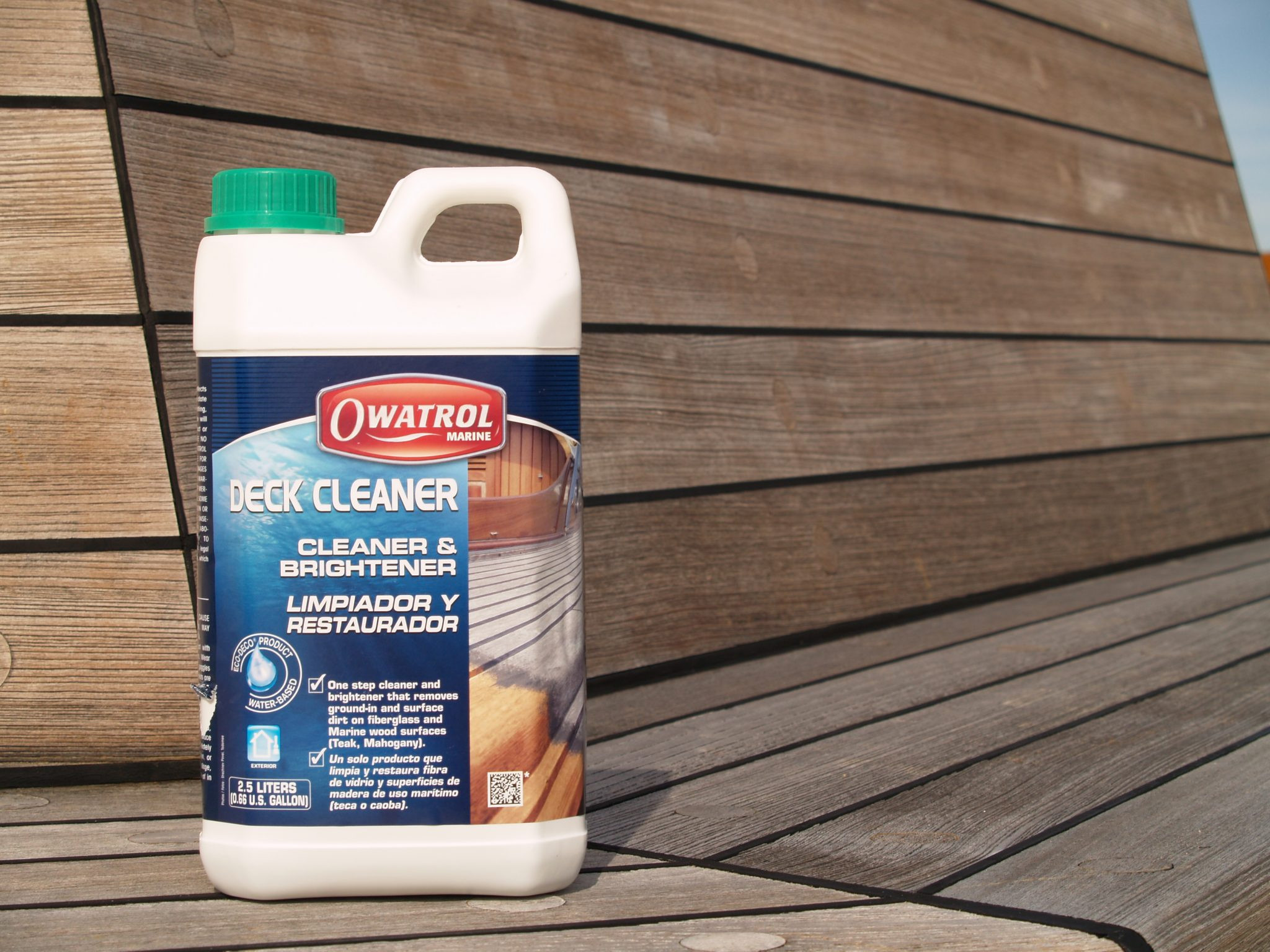 hardwood floor cleaning products of deck cleaner boat deck cleaner owatrol direct regarding add to basket