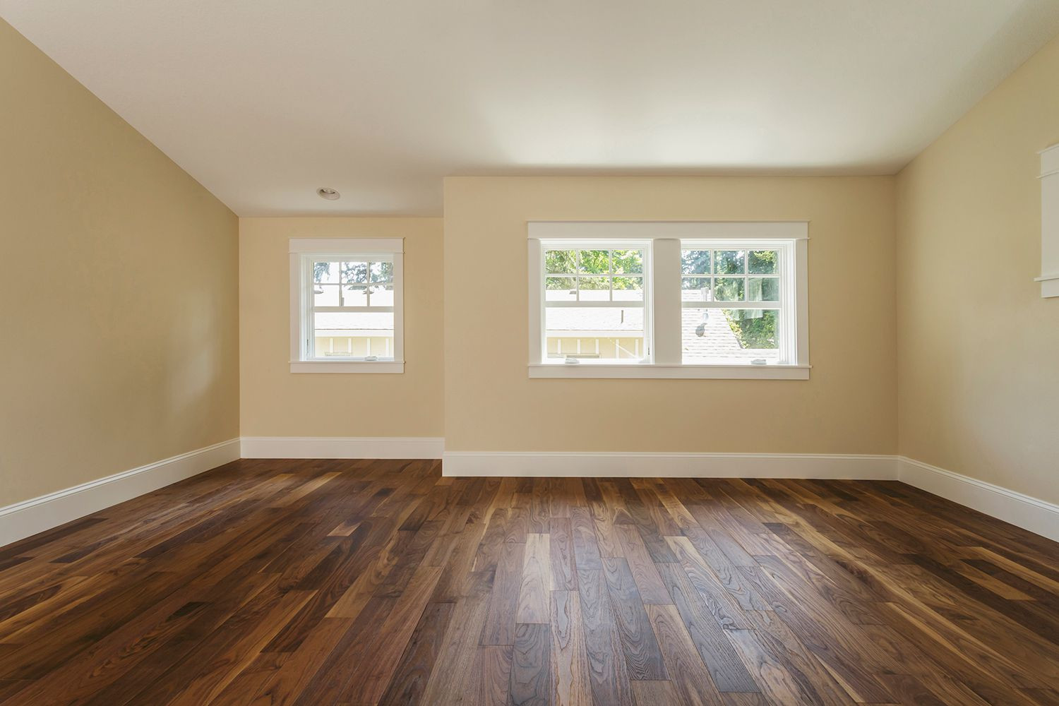 hardwood floor direction change of how to install shoe molding or quarter round molding throughout gettyimages 482143001 5b4b783bc9e77c0037efbcf6