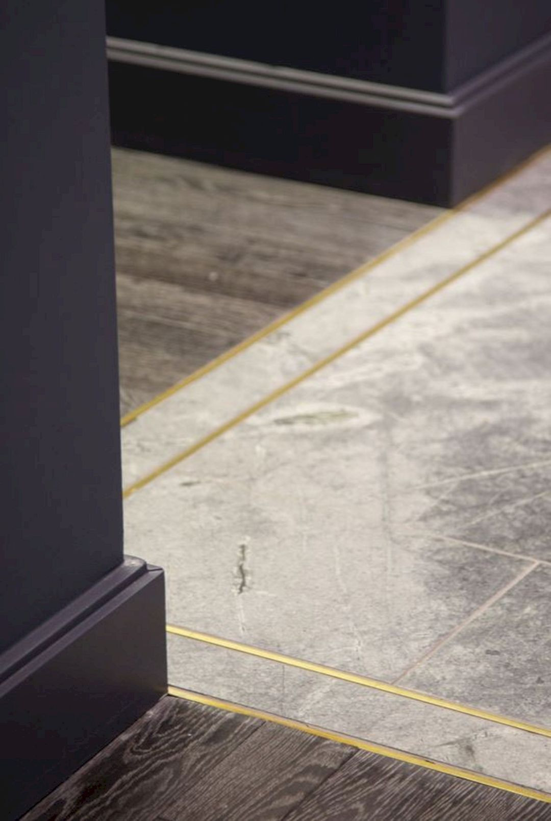 hardwood floor end cap molding of pin by amanda watson on interior ideas inspiration pinterest within concrete wood floor stone flooring foyer flooring metal floor metal trim