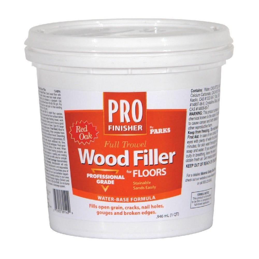 Hardwood Floor Epoxy Filler Of Rust Oleum Parks 1 Qt Red Oak Pro Finisher Wood Filler 138914 the Inside Red Oak Pro Finisher Wood Filler